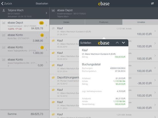 ebase Mobile iPad Screenshot 5