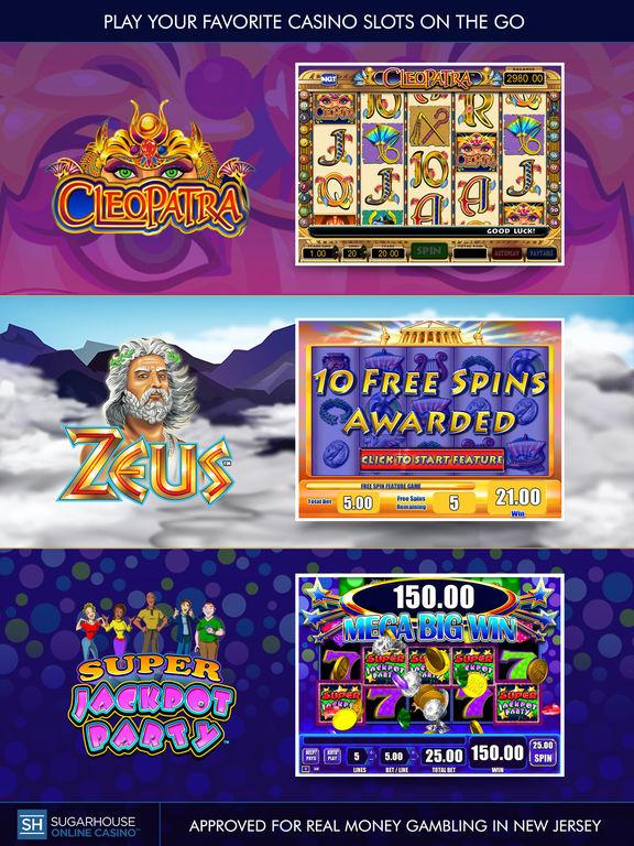 Sugarhouse casino application online
