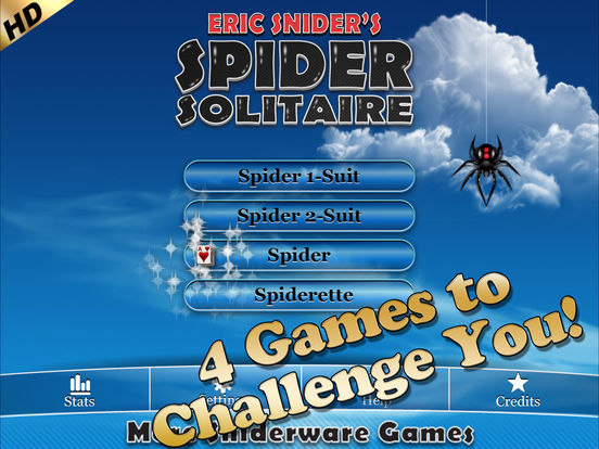 Spider Solitaire HD iPad Screenshot 2