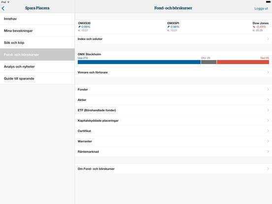 Handelsbanken Mobiltjänst iPad Screenshot 4