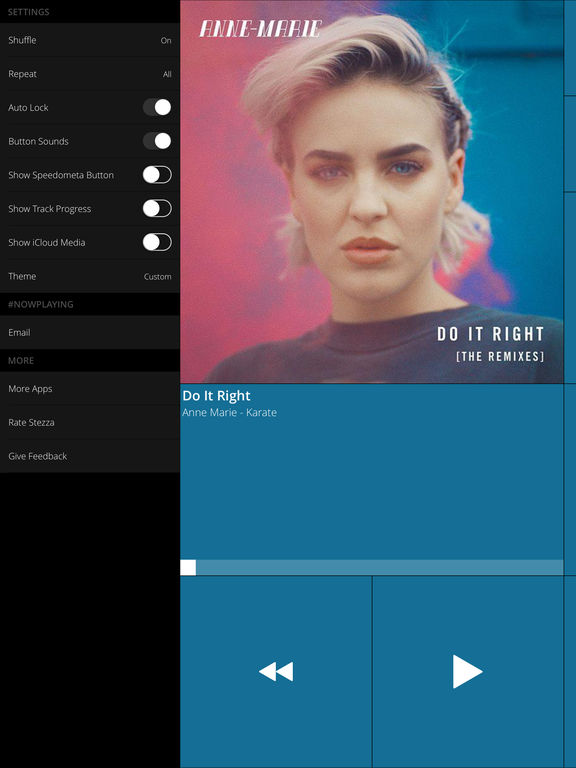 Stezza - Music Player for the Car and AppRadio Screenshots