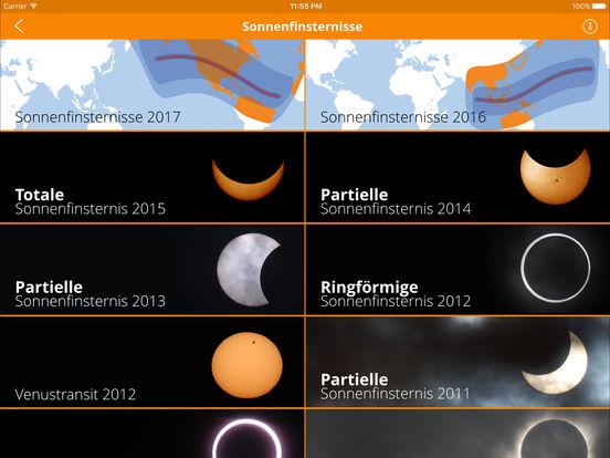 Solar Eclipses iPad Screenshot 3