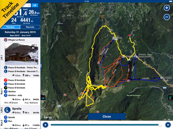 NAVIONICS SKI Screenshots
