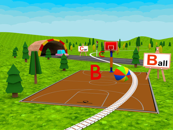 Learn ABC Alphabet For Kids - Play Fun Train Game iPad Screenshot 4