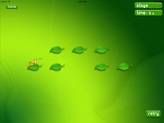 Leaf hopper HD iPad Screenshot 1