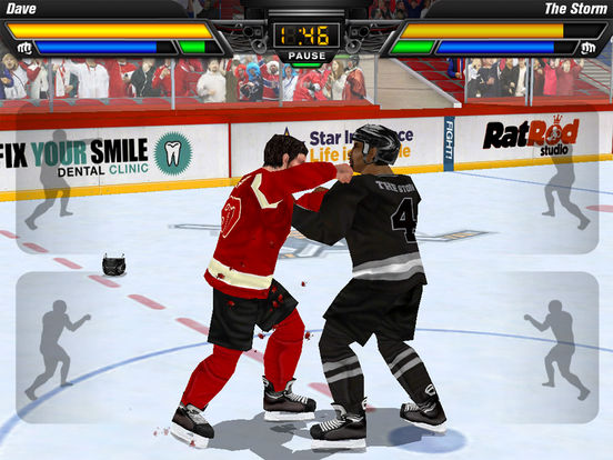 Hockey Fight Pro Screenshots