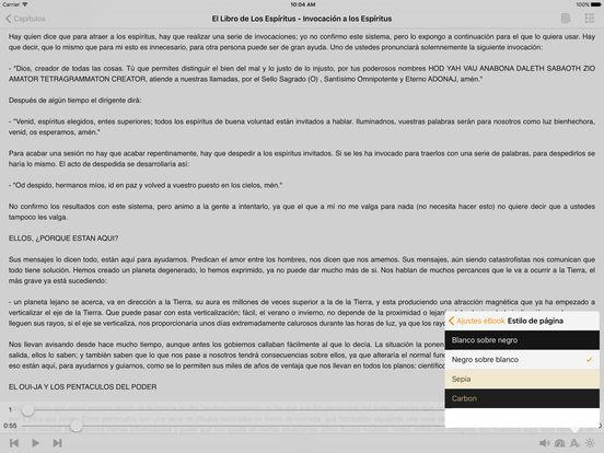 El Libro de Los Espíritus – AudioEbook iPad Screenshot 1