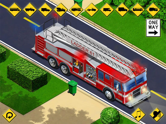 Kids Vehicles: City Trucks & Buses HD for the iPad Screenshots