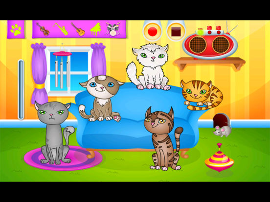 123 Kids Fun Animal Orchestra iPad Screenshot 1