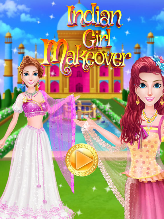App shopper indian girl makeover trendy style dress up game games