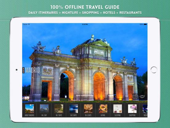 Madrid Travel Guide iPad Screenshot 1