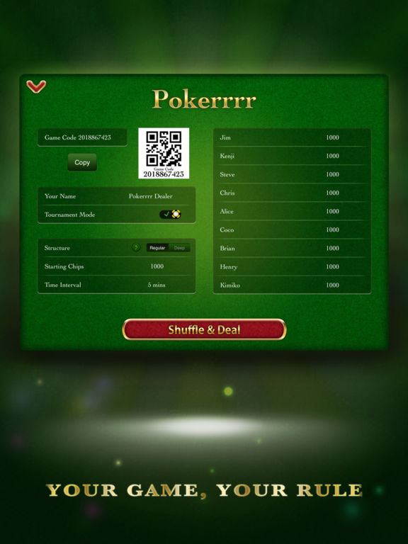 Poker app play with friends