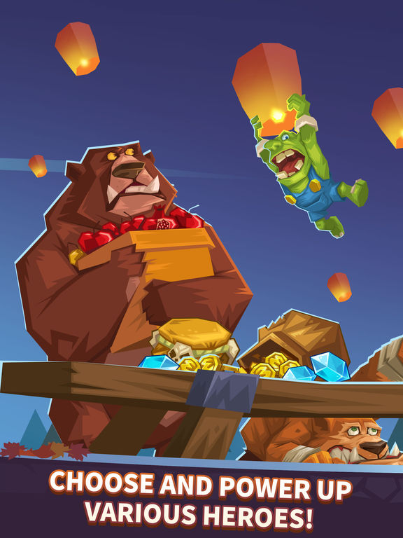 Monster Castle - Battles of Blistering Heat screenshot