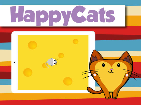 Happy Cats a game for Cats iPad Screenshot 1