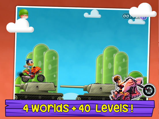 Moto Racing Super Star Games-ipad-4