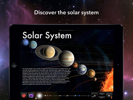 Solar System for iPad Screenshots