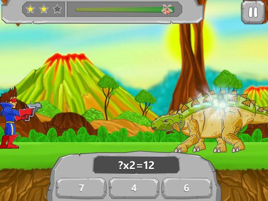 Динозавры Vs Математика: Математические Игры
