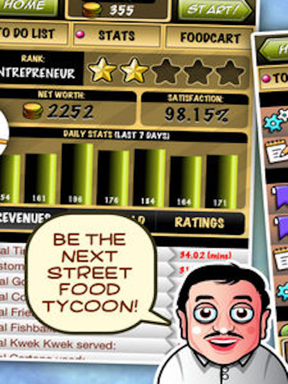 Street-food Tycoon Chef Fever: World Cook-ing Starscreeshot 4