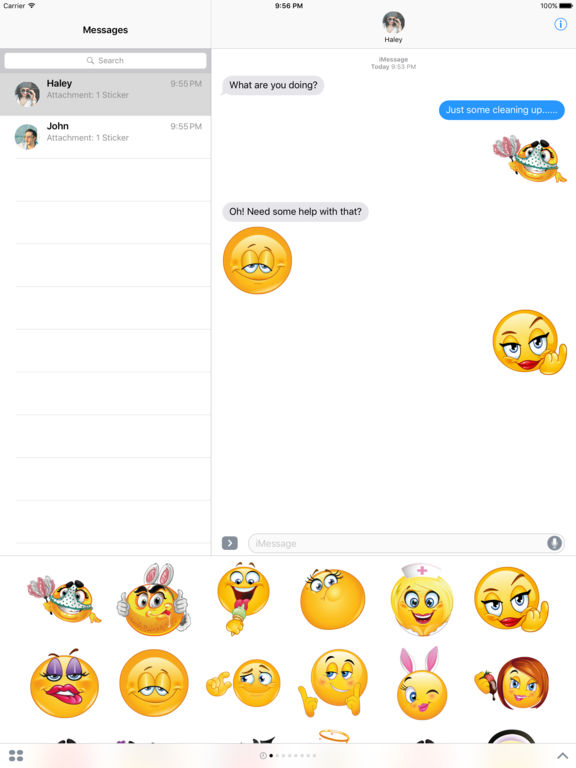 Adult Emojis – Flirty Emoji Stickers for iMessage