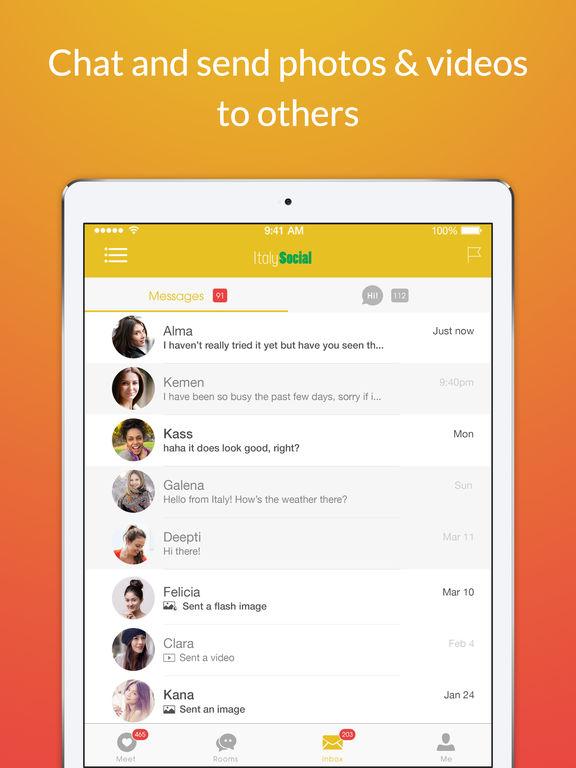 Italian dating app