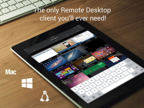 Remoter Pro (VNC, SSH & RDP) Screenshots