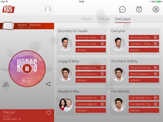 RDS iPad Screenshot 3