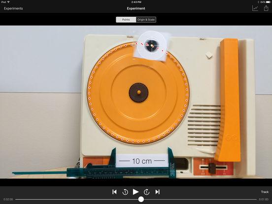 Vernier Video Physics iPad Screenshot 1