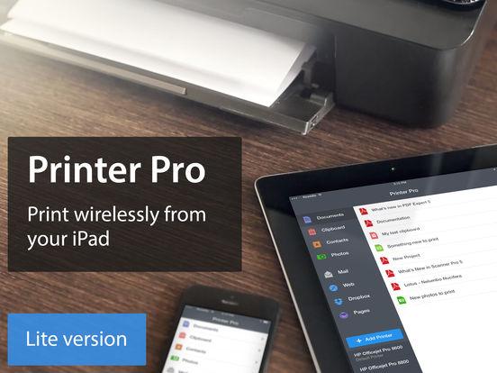 Printer Pro Lite iPad Screenshot 1