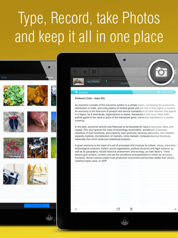 Notes : Supernote Recorder, Note, Memos, Photos. Notebook plus Notepad. free. screenshot