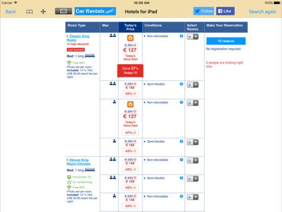 Hotels for iPad iPad Screenshot 5