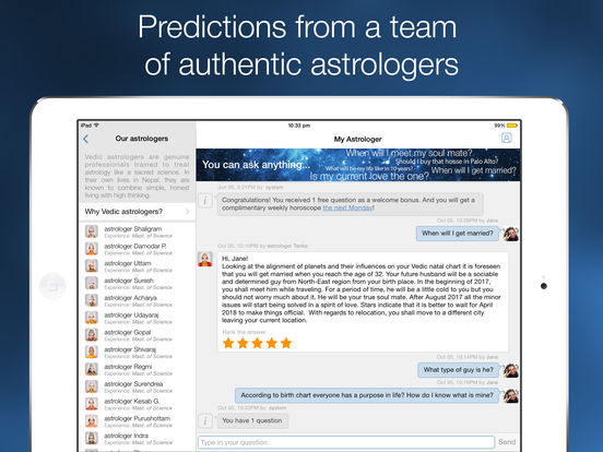 Yodha My Astrologer & Daily Horoscope for Zodiac Signs Love Compatibility By Astrology Birth Chart screenshot