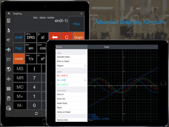 Calc Pro HD - The Top Mobile Calculator! Screenshots