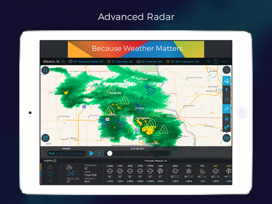Storm - Radar, Storm Tracking, Hurricanes, Accurate Lightning & Precipitation Alerts screenshot