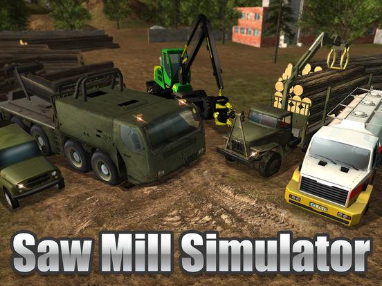 Sawmill Driver Simulator 3D Full screenshot 5