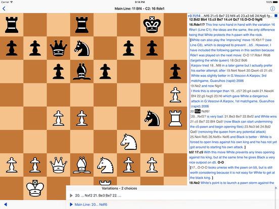 Chess Viewer iPad Screenshot 2
