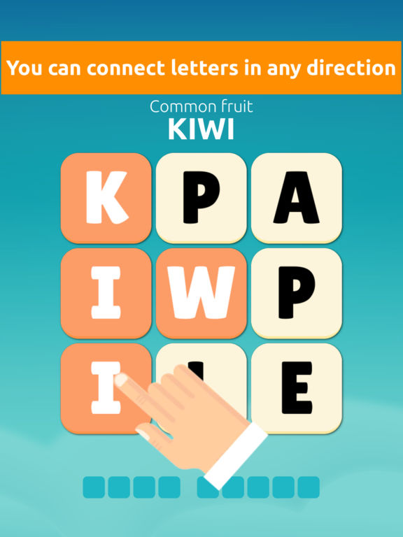 Word Swipe Connect: Find the Mystery Words для iPad