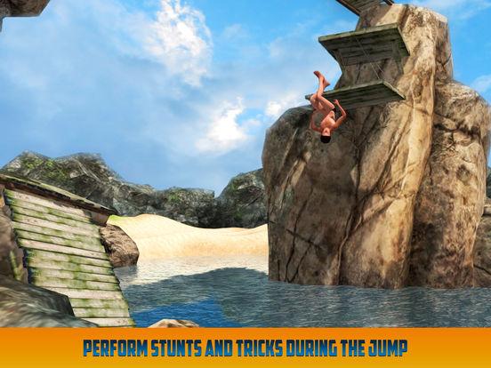 Cliff Flip Diving: Swimming Simulatorscreeshot 1