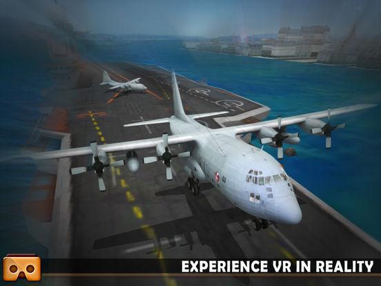 VR Airplane Flight Sim 2017 screenshot 7