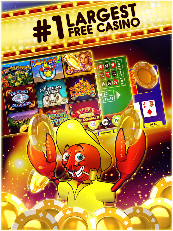 DoubleDown Casino & Slots  – Vegas Slot Machines! iPad