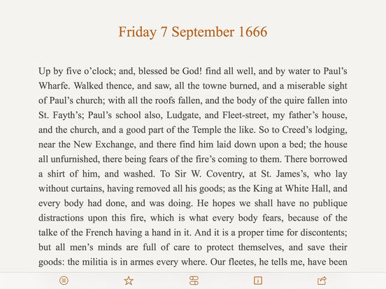 Pepys Diary iPad Screenshot 5