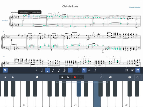 Symphony Pro iPad Screenshot 1