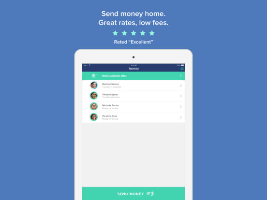 Send Money with Remitly screenshot