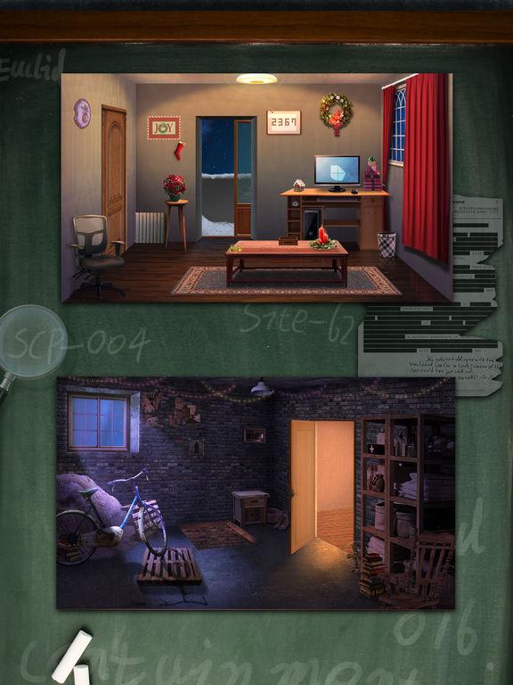 детектив Дом побег 9 - избежать дверей и номера на iPad