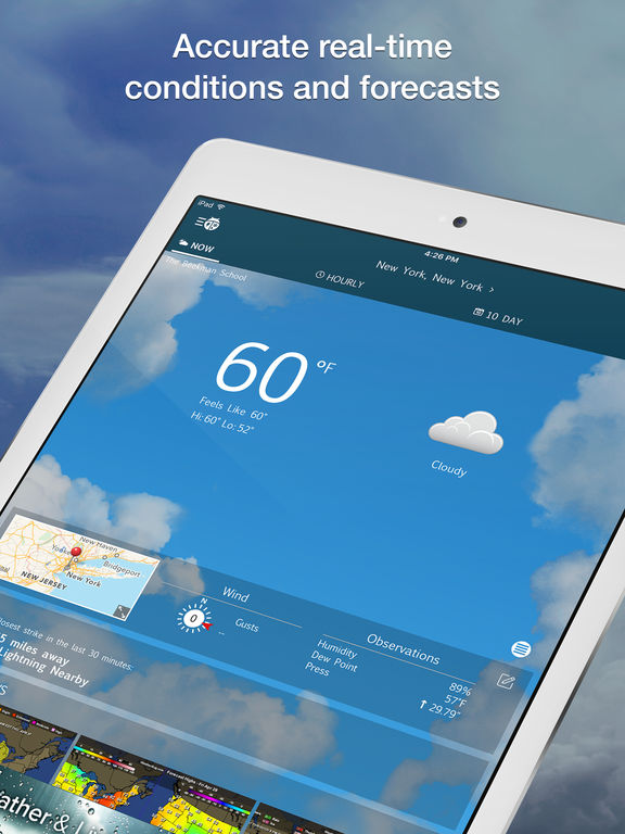 how to get weather alerts on iphone 6
