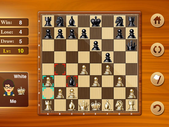 Chess with 9 Levels iPad Screenshot 3
