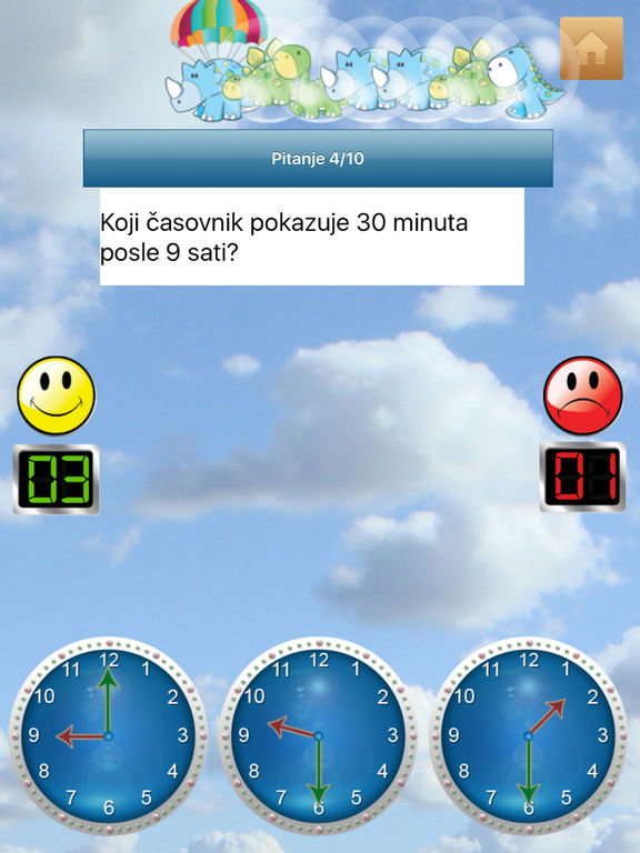Tick Tock Clock (Serbian) - Learn How to Tell Time Screenshots