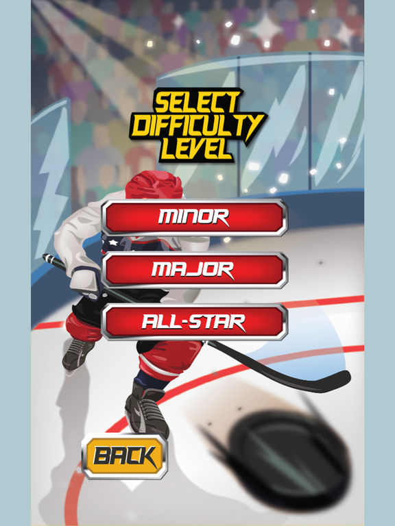 Hockey Shootout Pro! screenshot 7