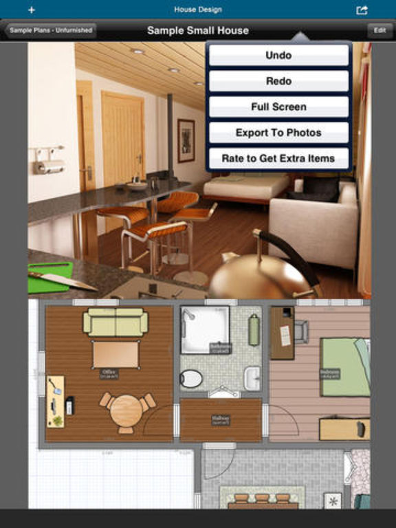 App shopper home office design floor plan draft for Office floor plan app
