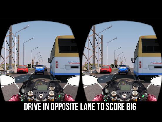 VR Трафик Велосипед Гонщик- Велосипедные гонки Скриншоты6