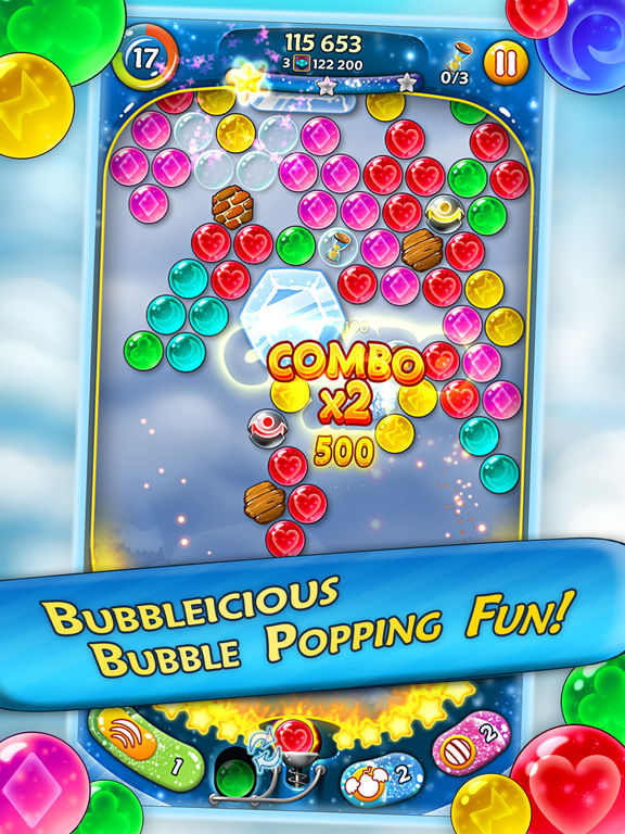 Bubble Bust! 2 - Pop Bubble Shooter на iPad